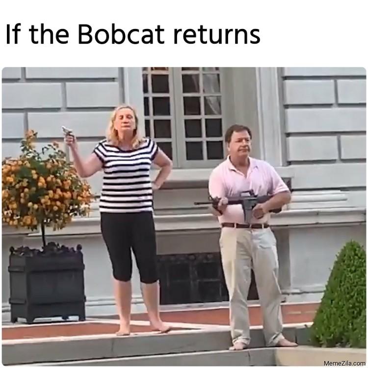 If the Bobcat returns meme