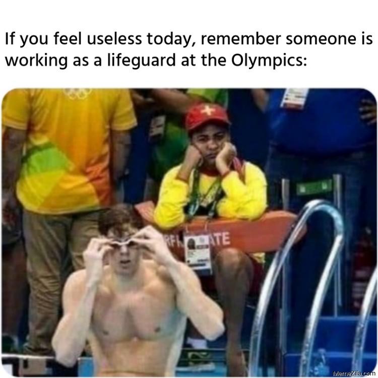 If you feel useless today meme
