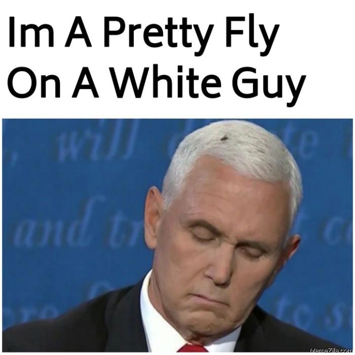Im a pretty fly on a white guy meme