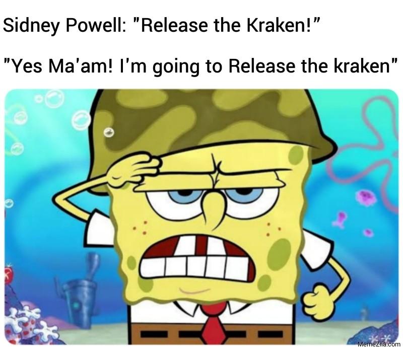 Im going to release the kraken meme