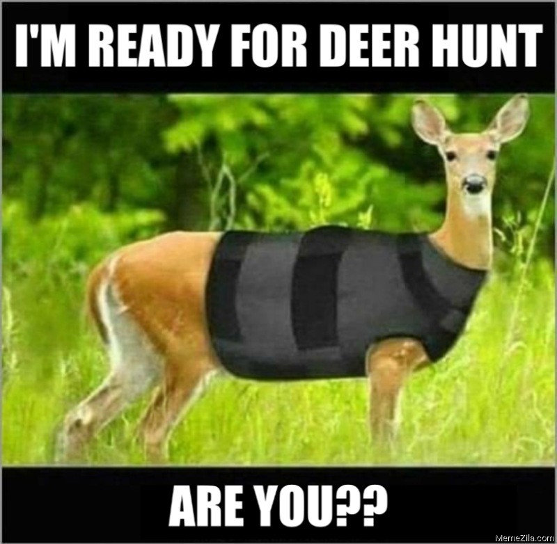 Im ready for deer hunt Are you ready meme