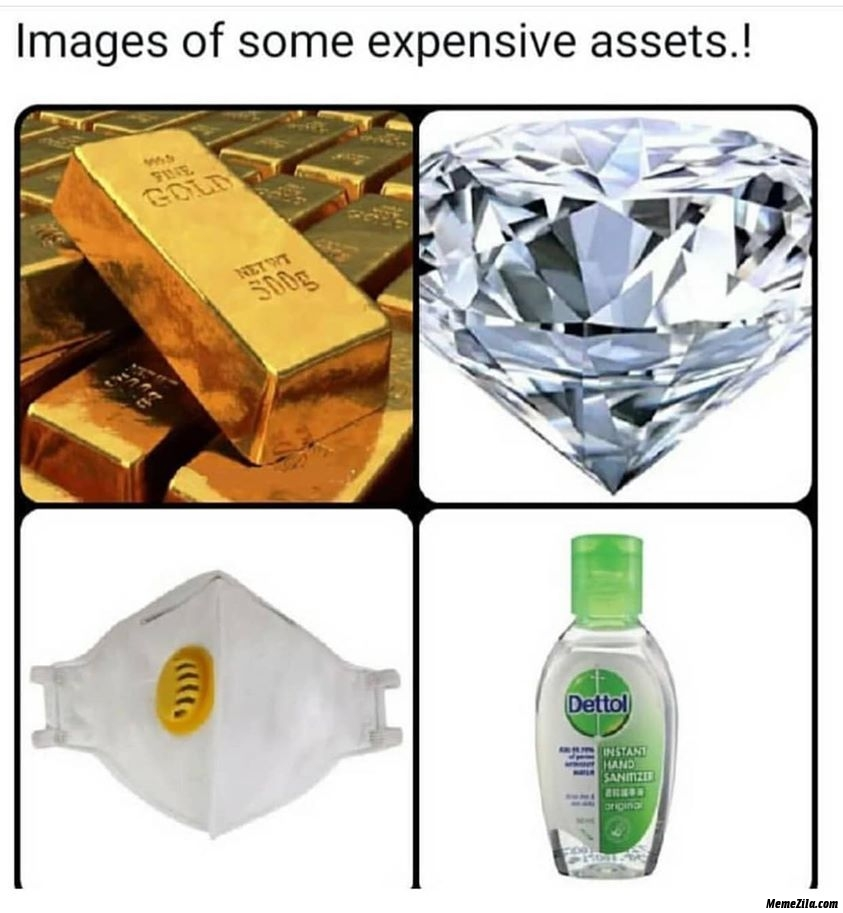 Images of some expensive assets meme