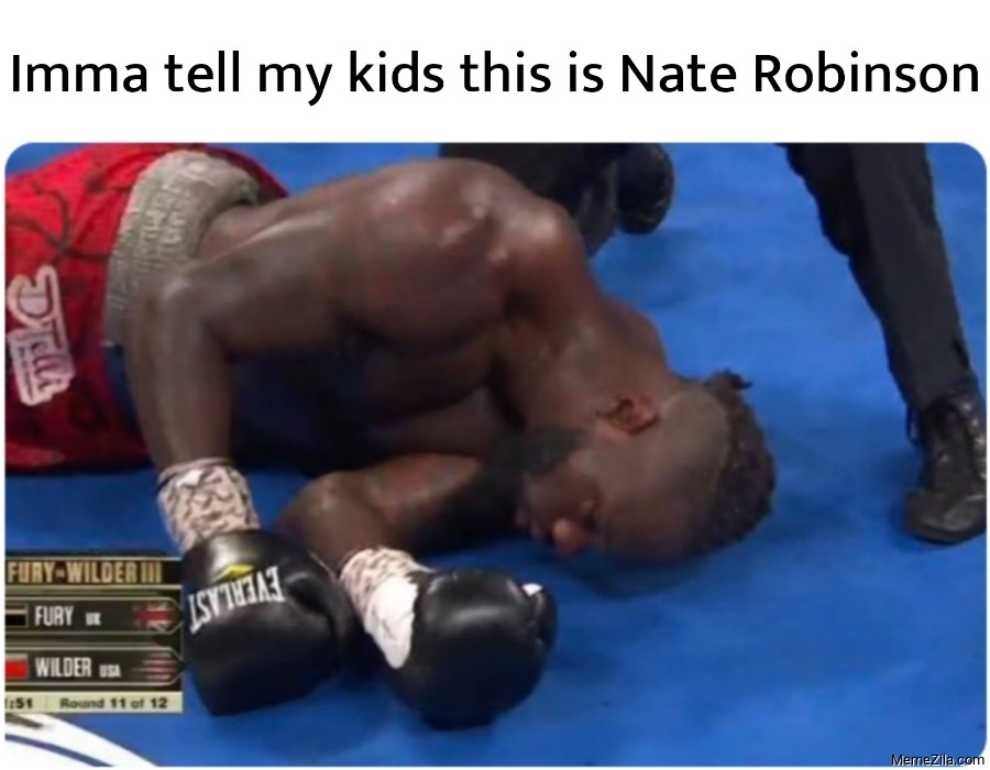 Imma tell my kids this is nate robinson meme