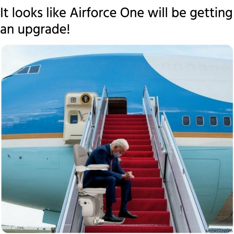 It looks like Airforce One will be getting an upgrade meme