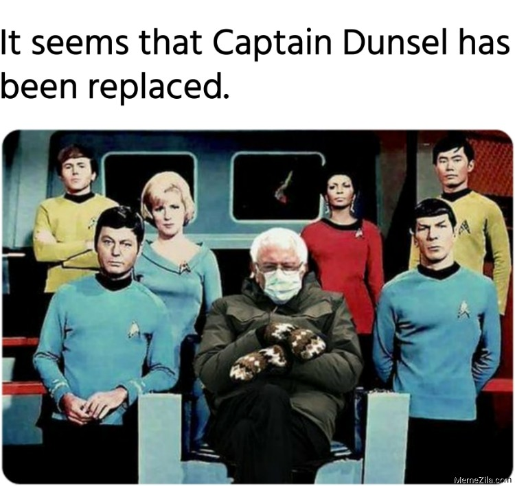 It seems that Captain Dunsel has been replaced meme