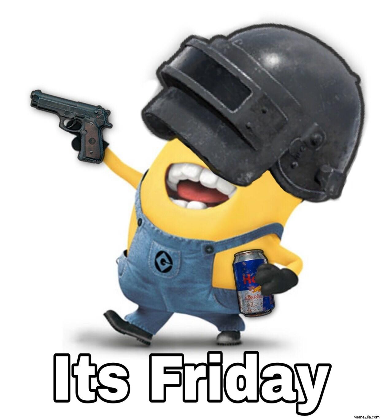 Its friday minion meme