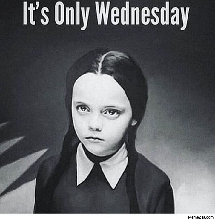 Its only wednesday meme