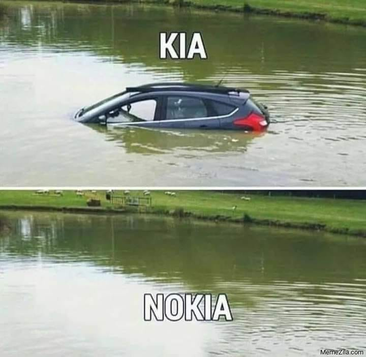Kia Nokia meme