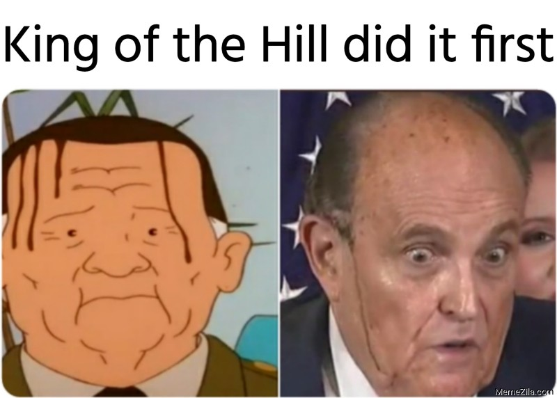 King of the Hill did it first meme