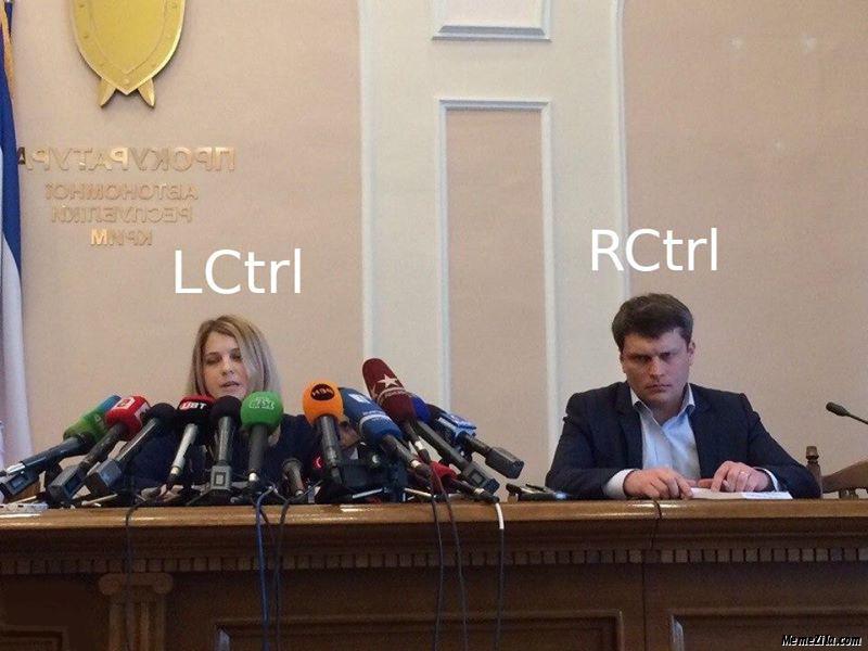LCtrl vs RCtrl meme