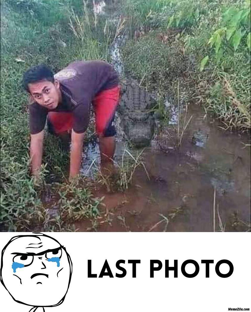 Last photo meme