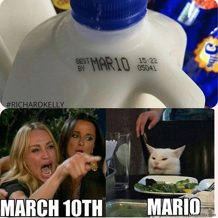 MAR10 March 10th Mario meme