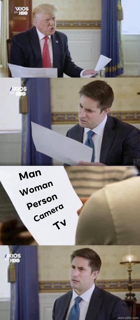 Man Woman Person Camera TV meme