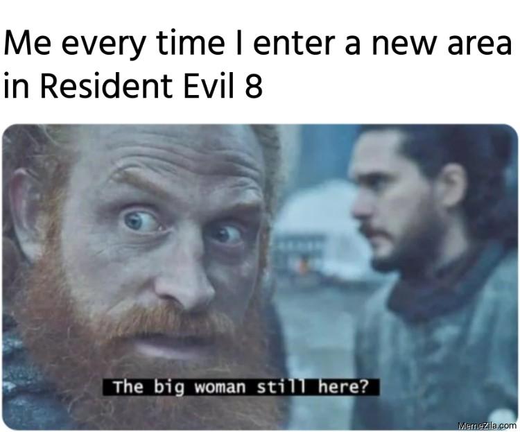 Resident Evil Vampire Lady Memes