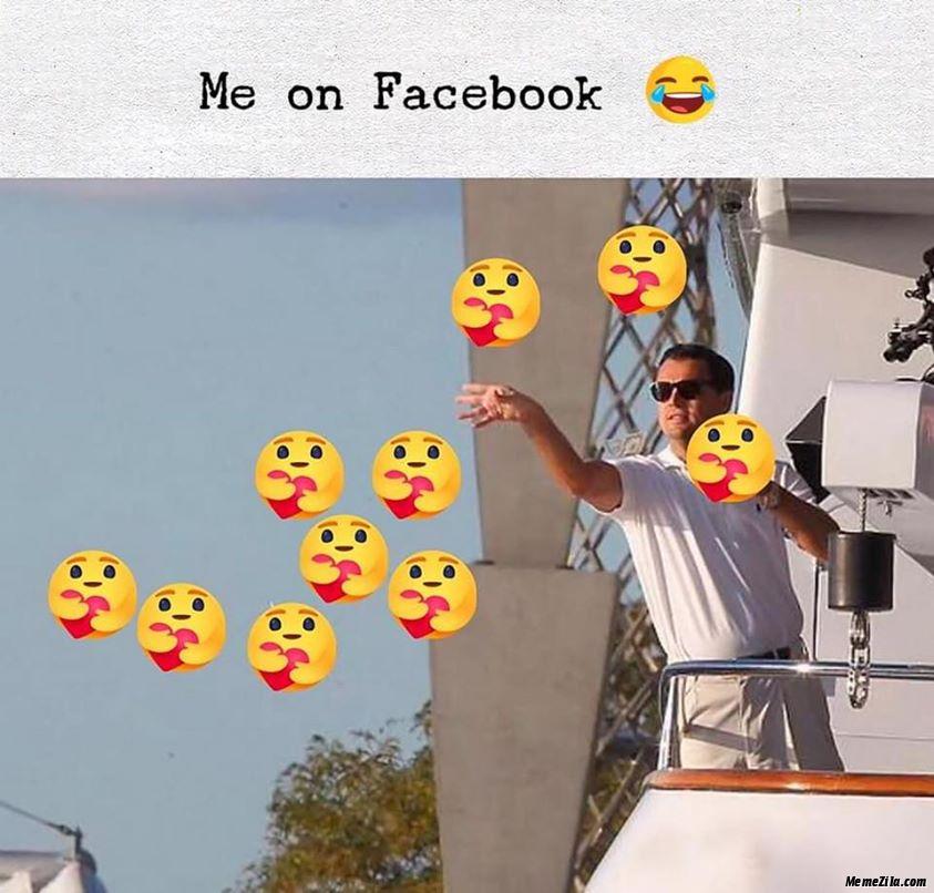 Me on facebook meme