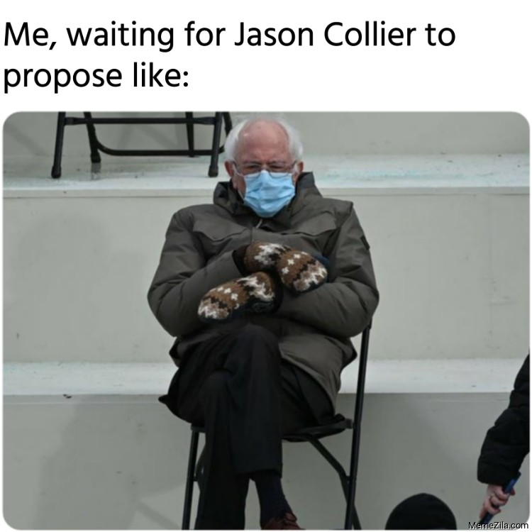 Me waiting for Jason Collier to propose like meme