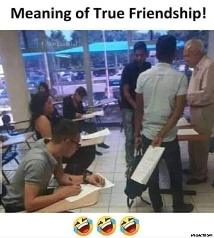 Meaning of true friendship meme