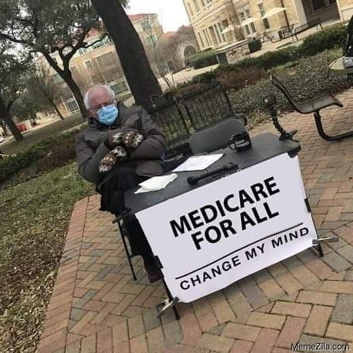 Bernie Sanders Mittens Inauguration Memes
