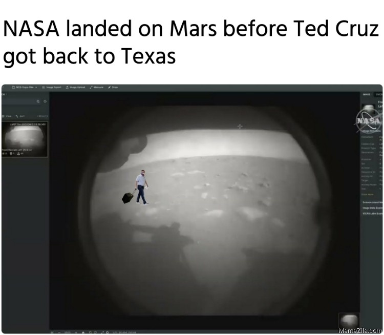 Ted Cruz On Mars Memes Memezila Com