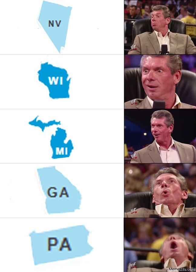 NV WI MI GA PA meme
