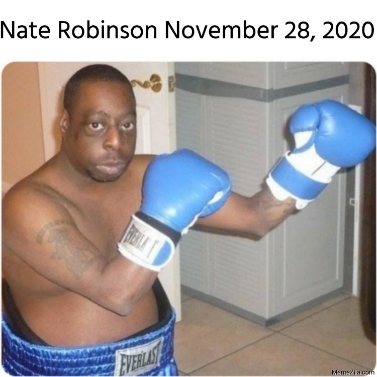 Nate Robinson November 28 2020 meme
