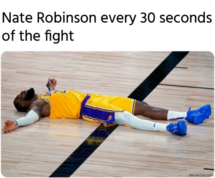 Nate Robinson every 30 seconds of the fight meme