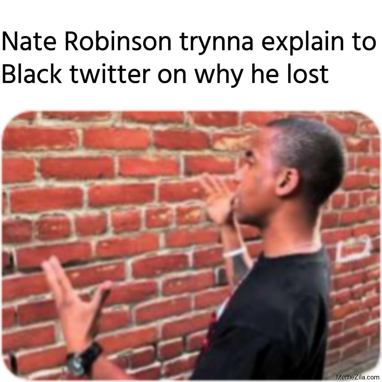 Nate Robinson trynna explain to Black twitter on why he lost meme
