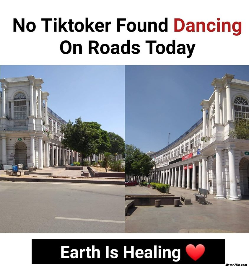 No tiktoker found dancing on roads today meme
