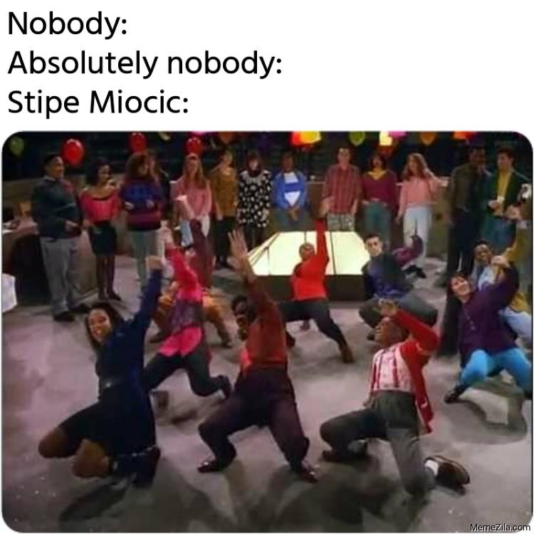 Nobody Absolutely nobody Stipe Miocic meme