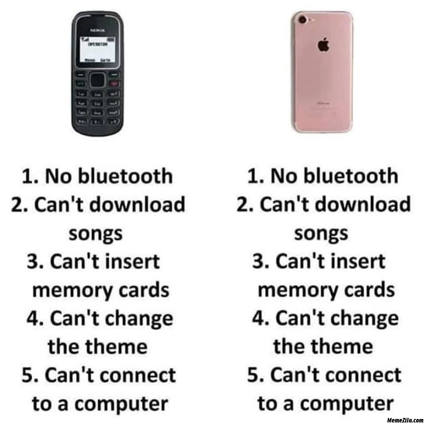 Nokia vs iphone
