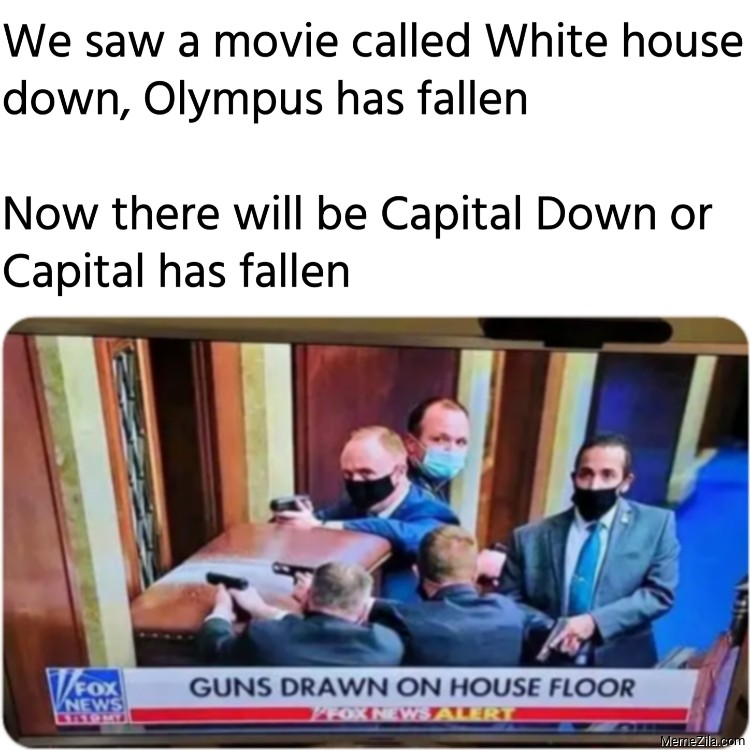 Now there will be Capital Down or Capital has fallen meme