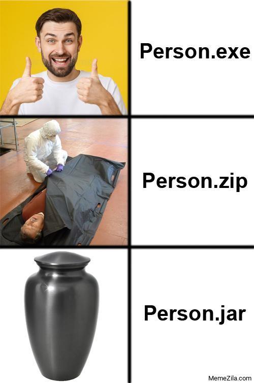 Person.exe Person.zip Person.jar