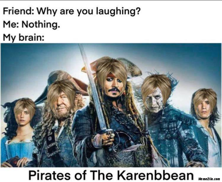 Pirates of Karenbbean meme