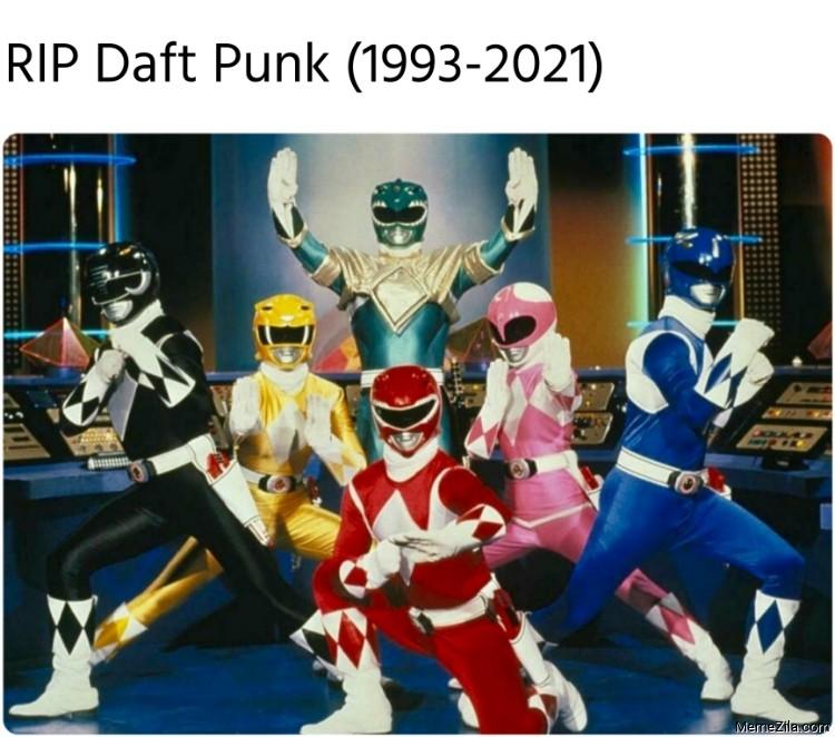 RIP Daft Punk 1993-2021 meme