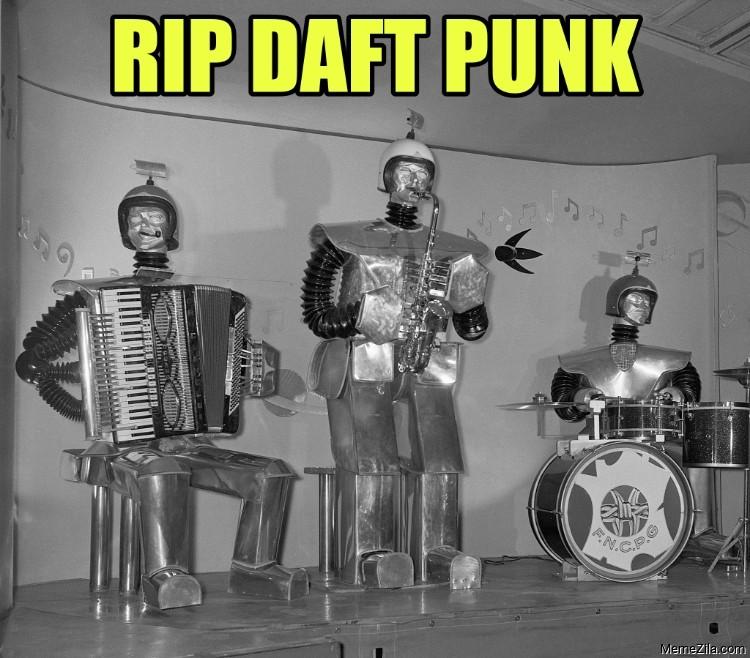 RIP Daft Punk meme