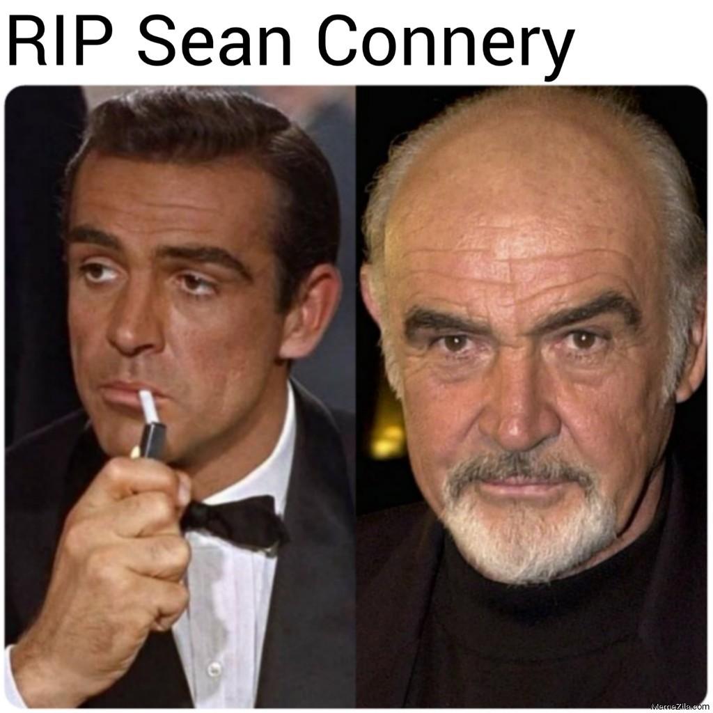 RIP Sean Connery meme