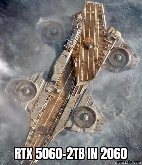 RTX 5060 2TB in 2060 meme