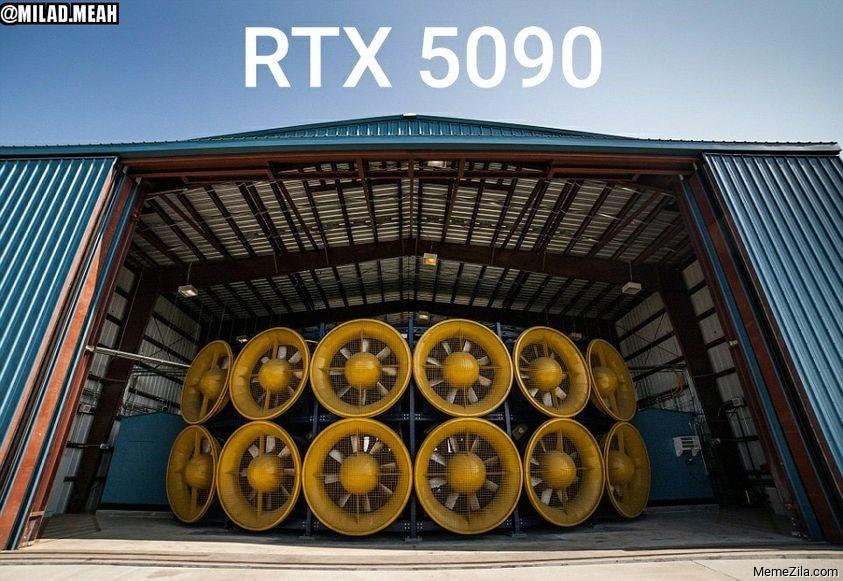 RTX 5090 meme