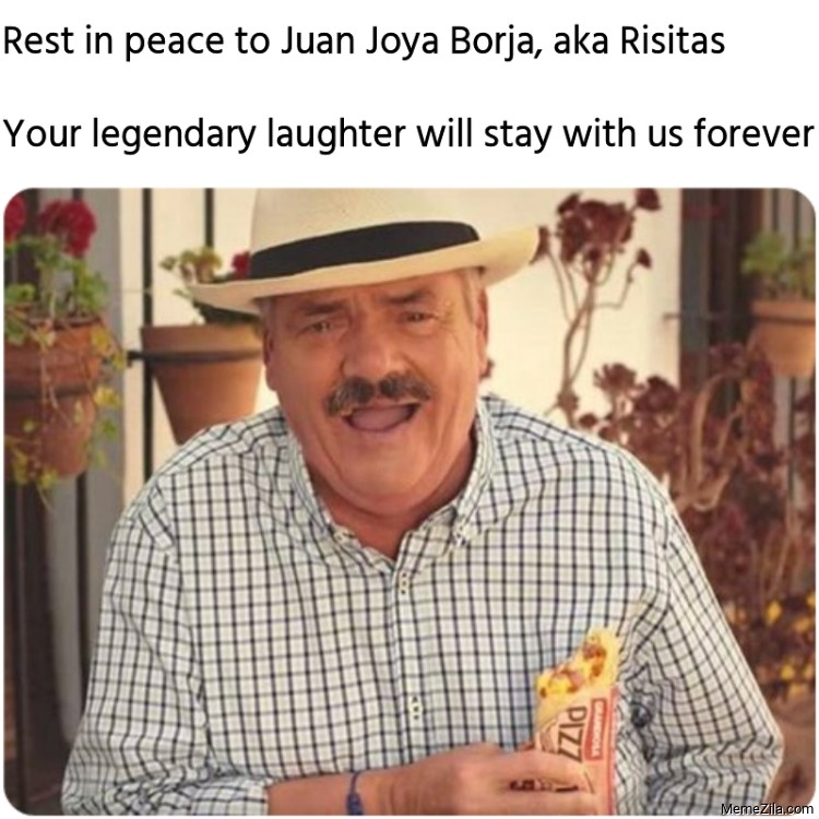 Rest in peace to Juan Joya Borja aka Risitas meme