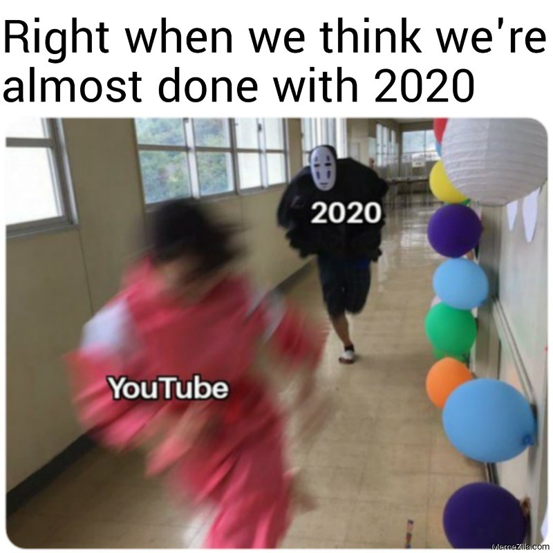 Right when we think we were almost done with 2020 meme