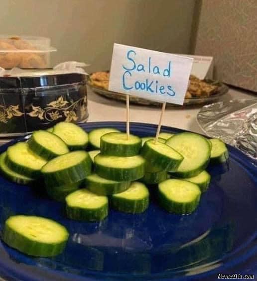 Salad cookies meme