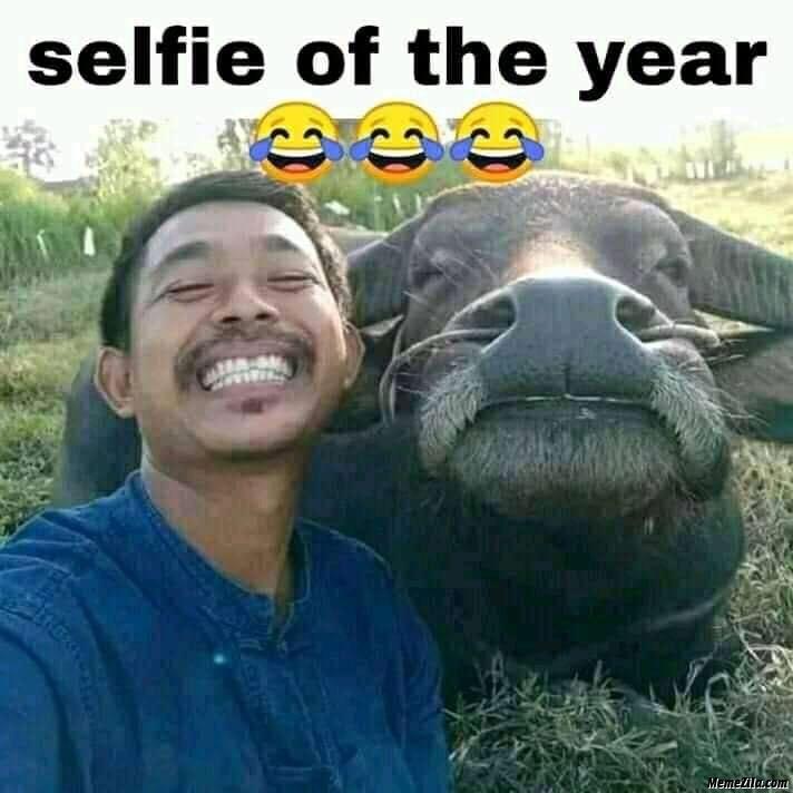 Selfie of the year meme