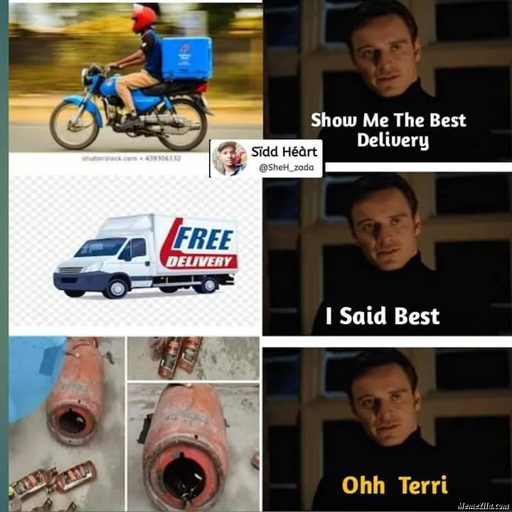 Show me the best delivery meme