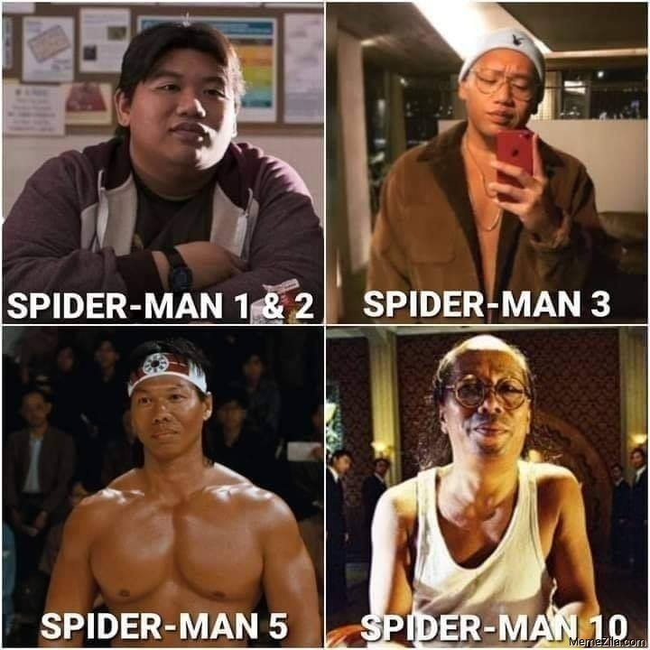 Spider-Man 1 and 2 Spider-Man 3 Spider-Man 5 Spider-Man 10 meme
