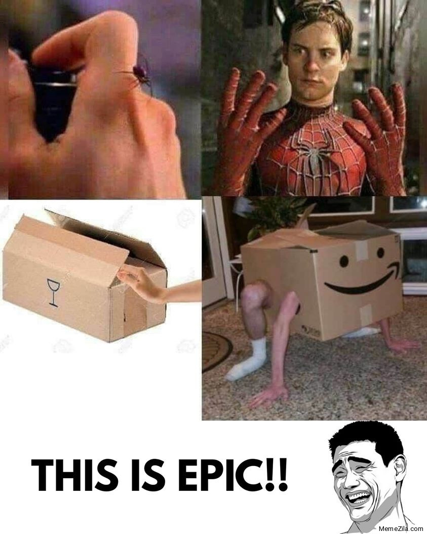 Spiderman Boxman meme