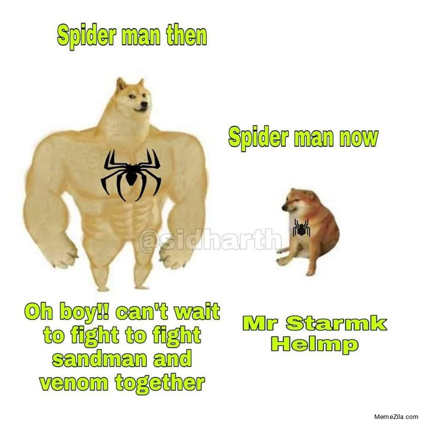 Spiderman then vs Spiderman now meme