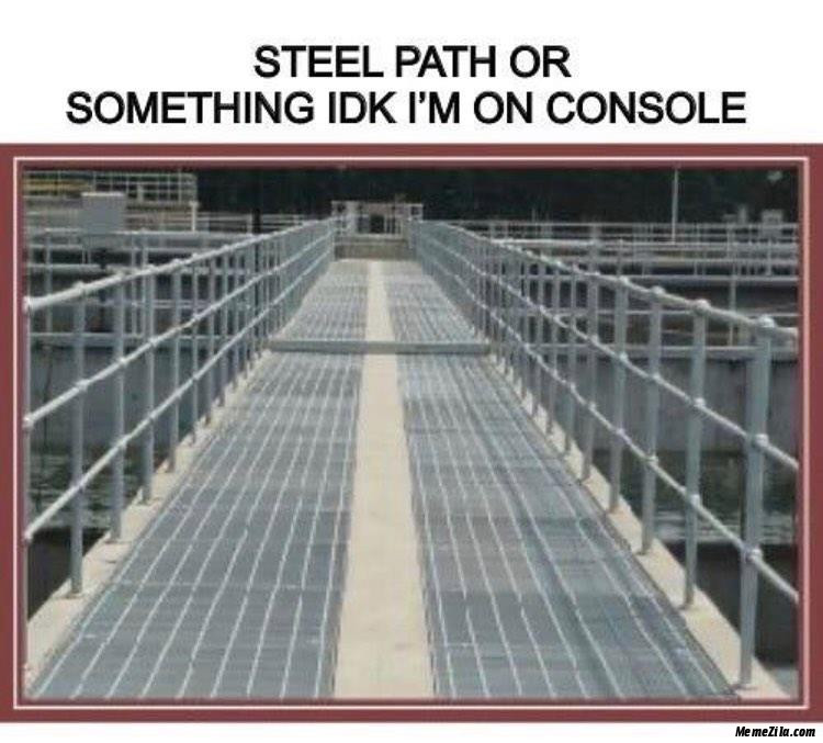 Steel path of something IDK I am on console meme