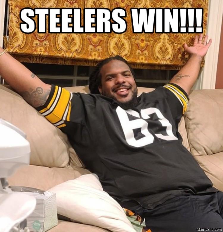 Steelers Win meme