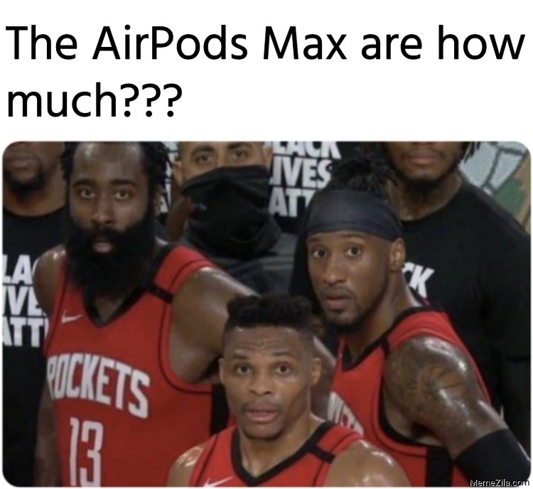 The AirPods Max are how much meme