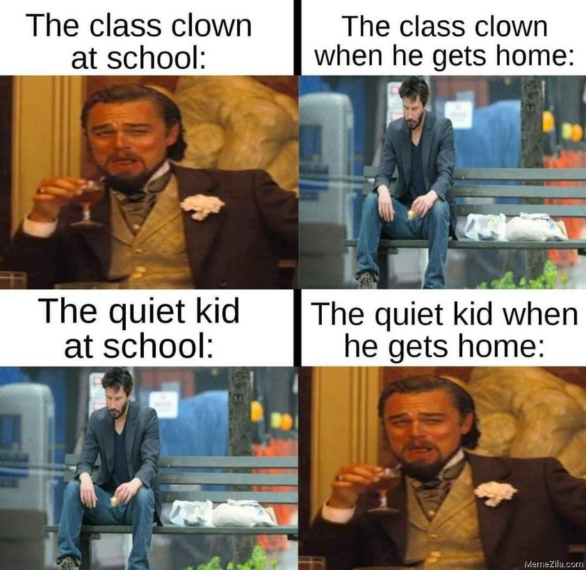 The class clone vs The quiet kid meme